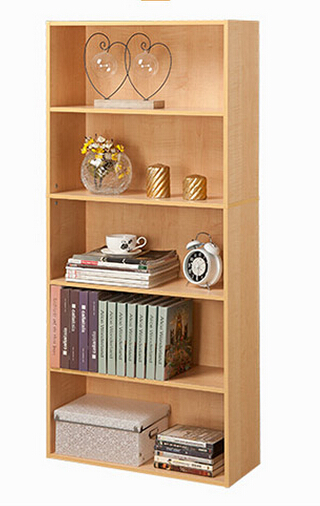 China Particle Board Design Wooden Book Rack Used Library