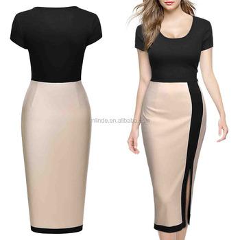 Plus Size Evening Dress Women\'s Official Scoop Neck Optical Slim Bodycon  Pencil Designer Evening Dress Patterns Guangzhou - Buy Plus Size Evening ...