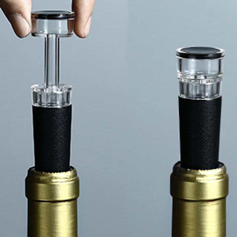 nuevo custom vino rojo de lujo accesorios bombas corcho botella de vino