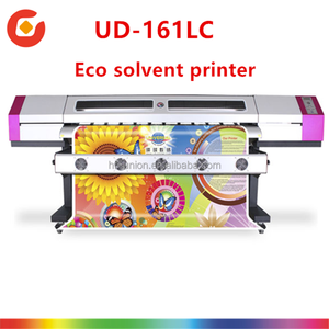 Hot!!Galaxy Eco Solvent sticker/photo printer 1.6M printing width with Epson DX5 head high resolution 1440DPI