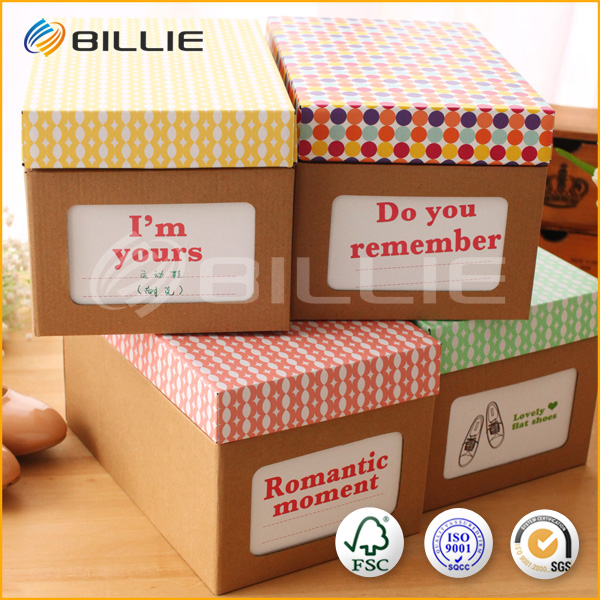 Payment Safety Guarantee Custom Cube Box