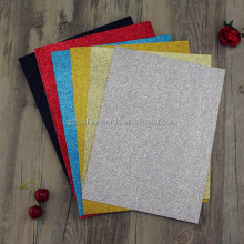 Handmade A4 Size Gold Red Black Silver Glitter Paper Wholesale
