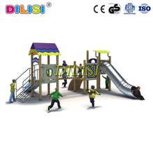 Wood playsets outdoor playground equipment for sale