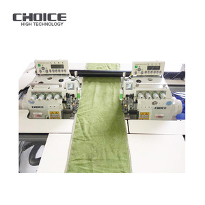 Golden Choice latest Technology GC-E52L-R full Automatic left n right hand Towel Making Overlock Sewing Machine