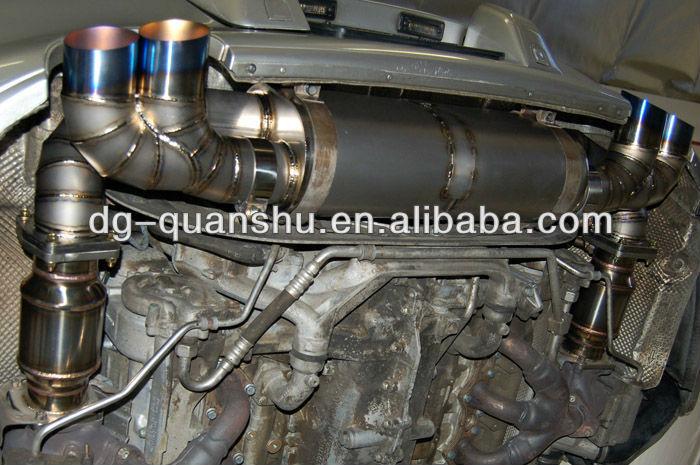 Exhaust Muffler * Titanium Exhaust System/ X-pipe For Porsche 996 Twin  Turbo - Buy Titanium Exhaust System,Racing Exhaust System,996 Turbo Exhaust