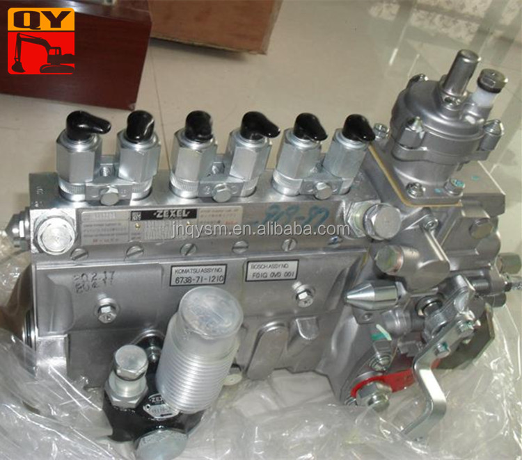 Engine fuel pump PC220-7 Fuel injection pump diesel fuel pump 6738-71-1210