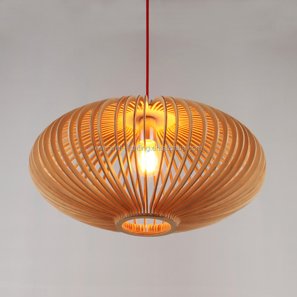Pendant Lamp Items Wood Lampshade Wooden Chandelier Lights