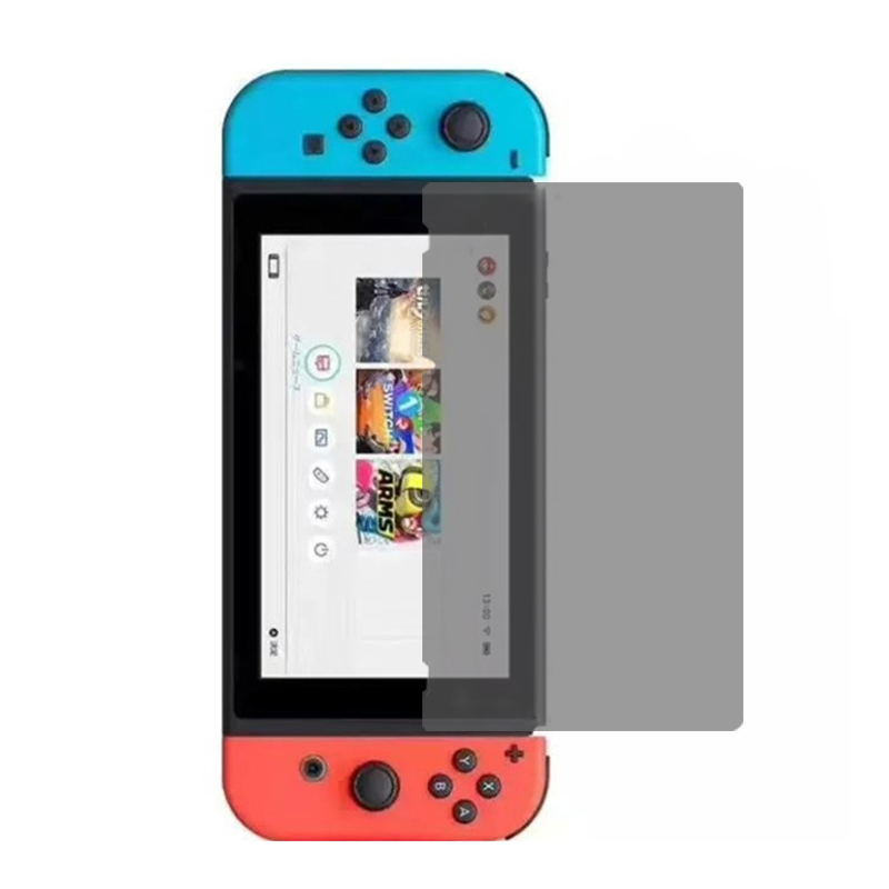Black PET privacy screen protector for Nintendo Switch 2017