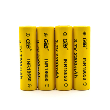 Hot sale 18650 rechargeable lithium battery  3.7v 2200mAh 3Cli Ion battery cell 18650  battery pack