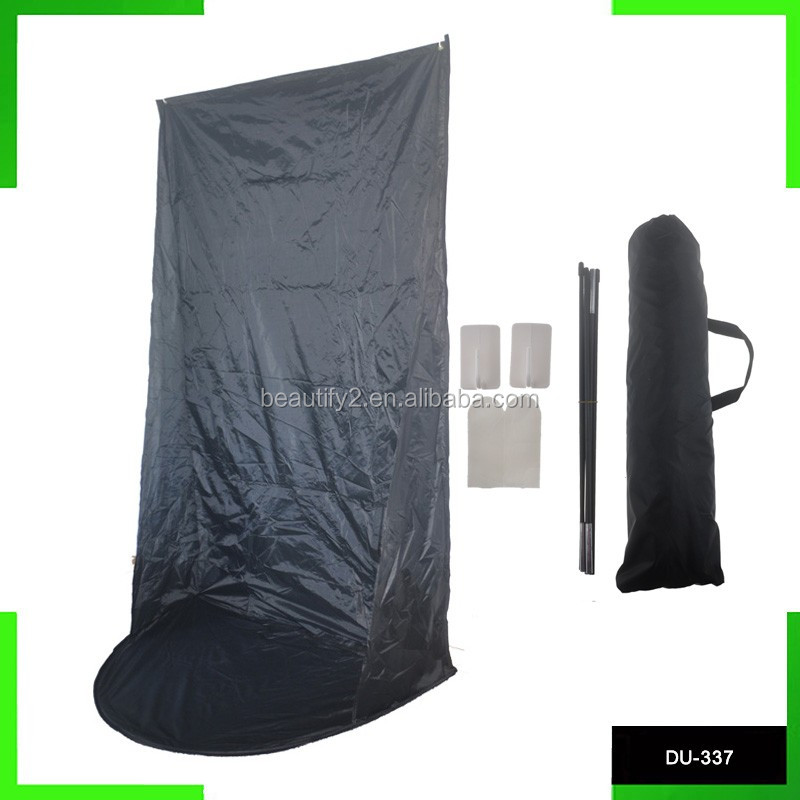 Wall hanging spray tanning curtain tent waterproof