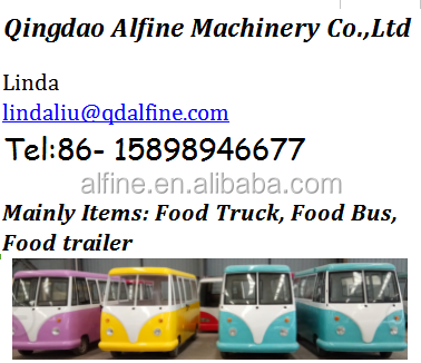 new design mobile ice cream catering food trailer