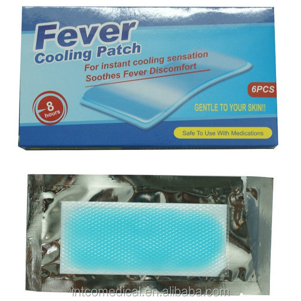 Fever Cooling Patch For Baby/cool Patch Gel For Headache And High ...