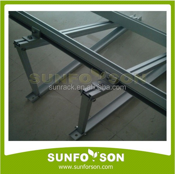 Triangle Roof Aluminum Mounting Structure Home Solar