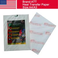 USA ATT dark inkjet heat transfer paper A4