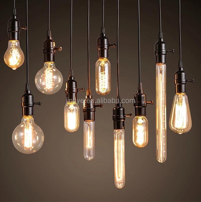 e27 retro beleuchtung lampen 40w 60w 100w jahrgang edison gl hbirne gl hlampe produkt id. Black Bedroom Furniture Sets. Home Design Ideas