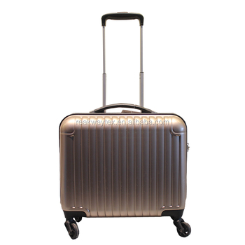 "RW6348 China Luggage Factory Supply 17"" ABS PC Spinner Wheel Hard Case Business Computer Travelling Cabin Luggage Suitcase"