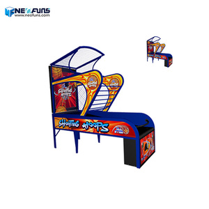 Neofuns Indoor Arcade Hoops Cabinet Basketball Game/Street Basketball Arcade Game Machine