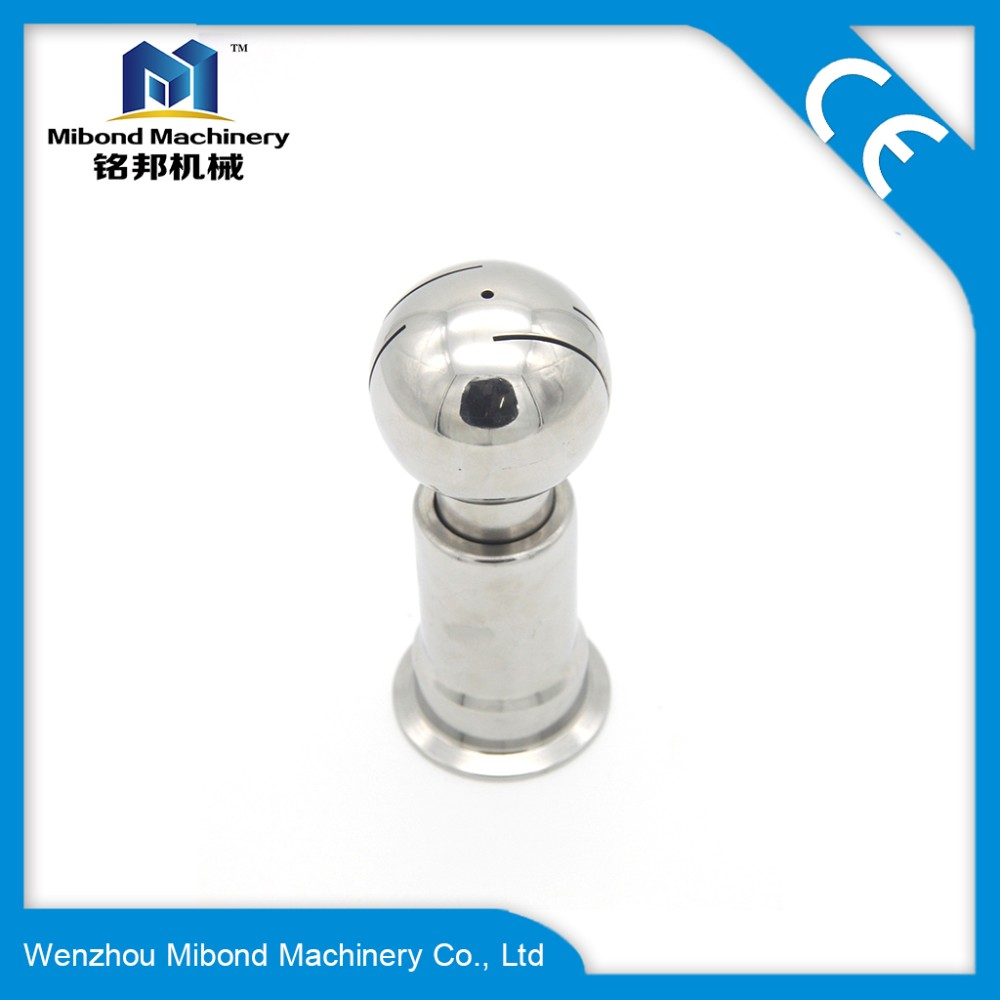 316L/304 Stainless Steel Material Male Thread Spray Ball For Washing And Cleaning Kegs