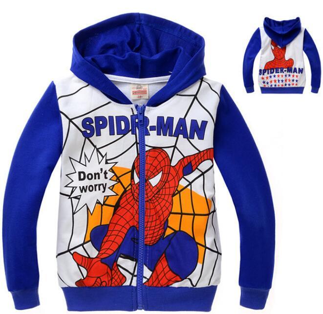 Compra sudadera con capucha del hombre araña online al por