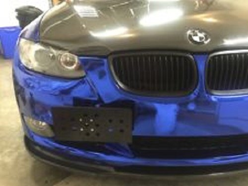 Bumper Tow Hook License Plate Mount Bracket For BMW 1 Series 2006 - 2012 1 Series M 2011 3 Series 1997 - 2011 M3 2004 - 2013 5 Series 1995 - 2005 X3 04 - 05 X5 2007 - 2013 X6 08 - 14 Z4 04 - 05