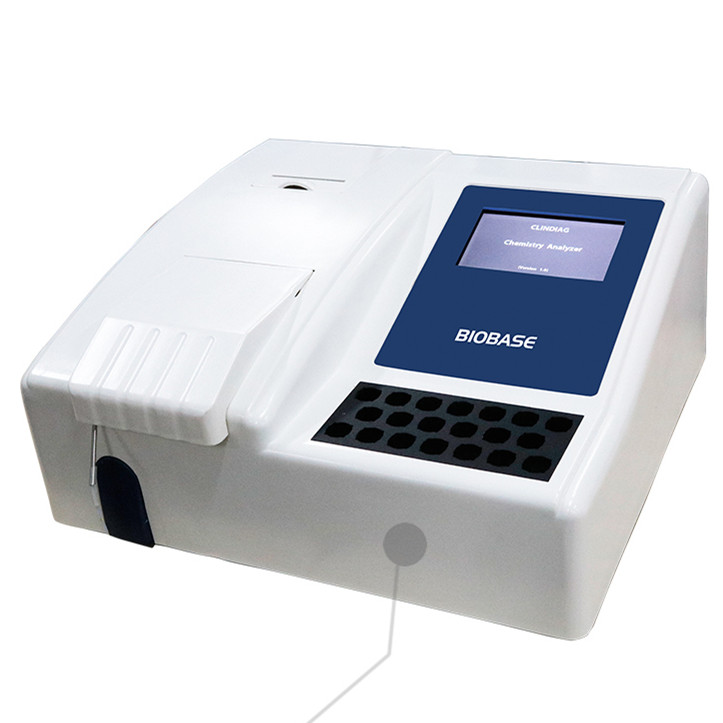 BIOBASE Chemie Analyzer Zilver Plus Touch Screen Semi Auto Chemie Analyzer/Biochemie Analyzer