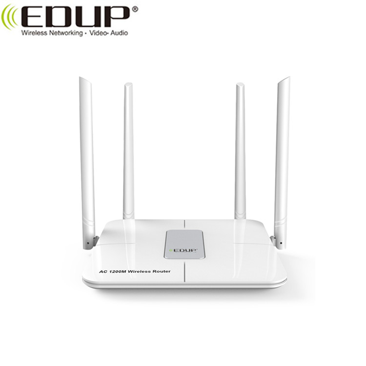 High Speed AC1200 2.4G 5G Dual Band Smart WiFi Router for Home Office
