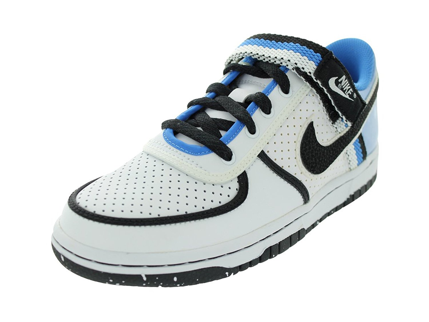 huge selection of 7a12f 81156 Get Quotations · Nike Kids NIKE VANDAL LOW (GS) BASKETBALL SHOES 6  (WHITE/BLACK-