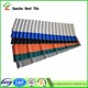 ISO certificate color lasting pvc tile price roofing for warehouses