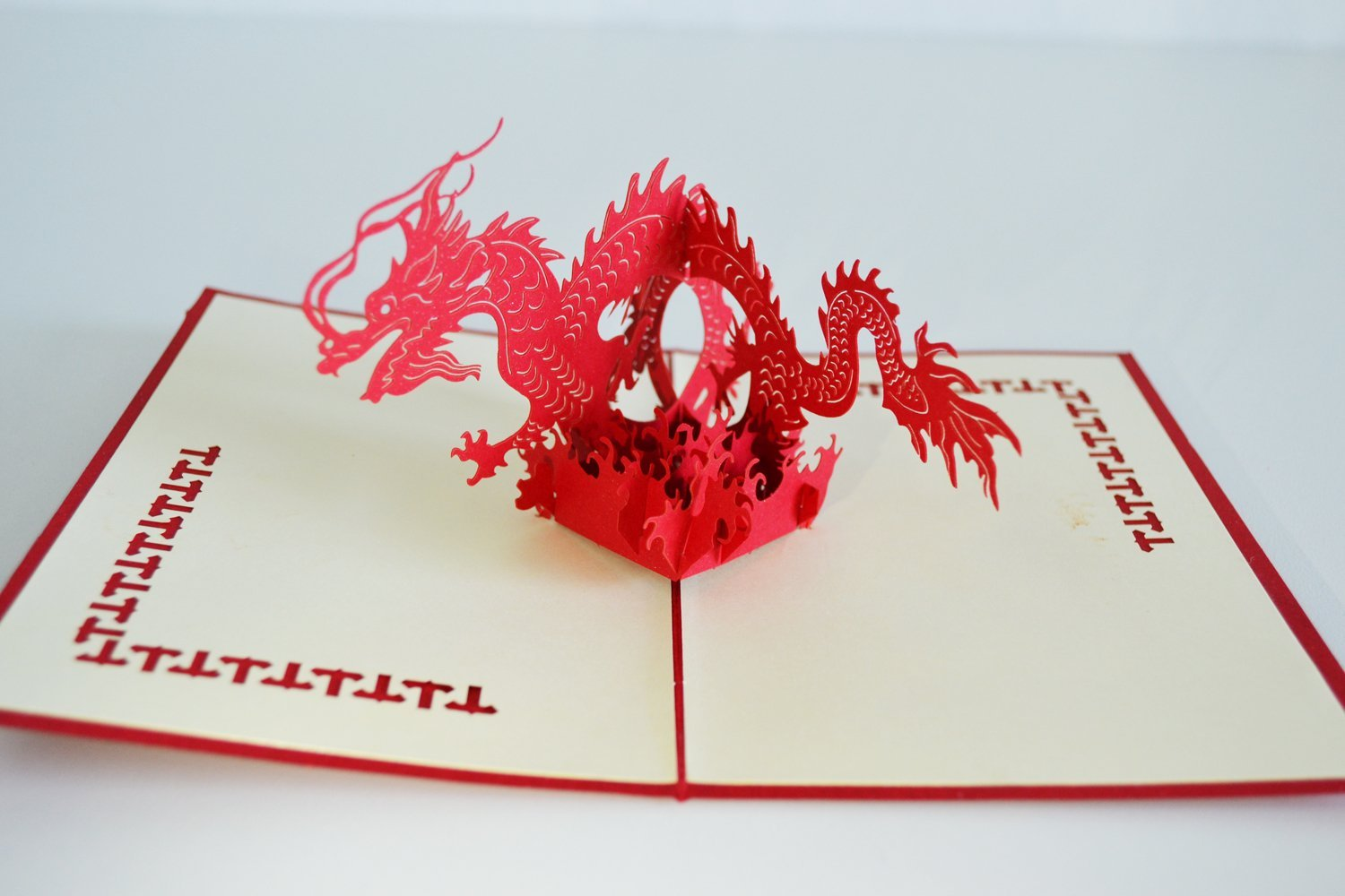 Cheap wedding greeting cards find wedding greeting cards deals on get quotations dragon greeting card 3d pop up new years customized greeting words wedding christmas cards thanksgiving gift kristyandbryce Gallery