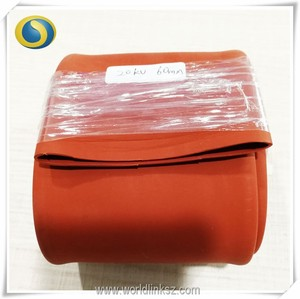 High voltage heat shrinkable busbar insulation sleeves