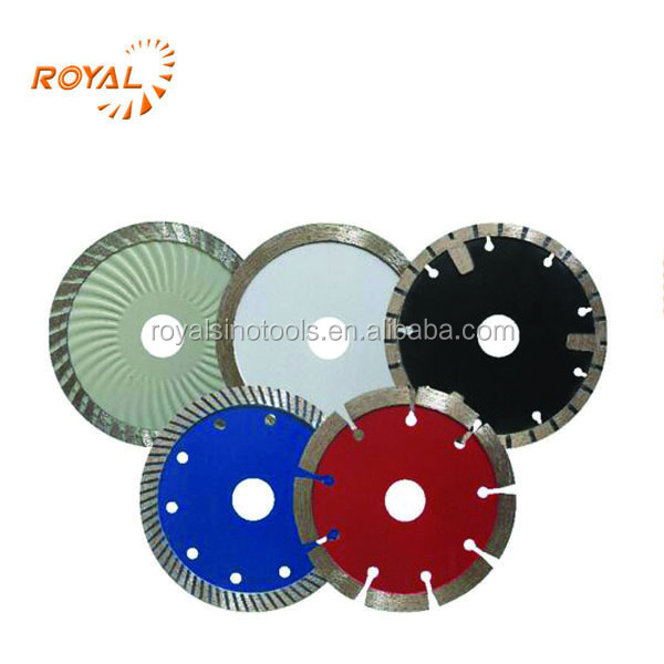 dry/wet cutting circular saw blade for stone material