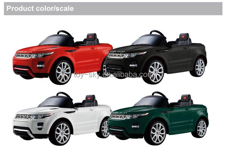 Hot Sale Alibaba Uk Licensed Land Rover Evoque Children Ride On