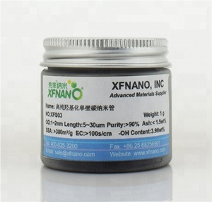 Hydroxy purified swcnt-OH single walled carbon nanotubes with high quality