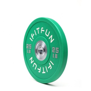 New arrival wholesale colorful urethane coated barbell weight plate sets
