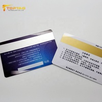 Teslin credit card / bank card / magnetic card