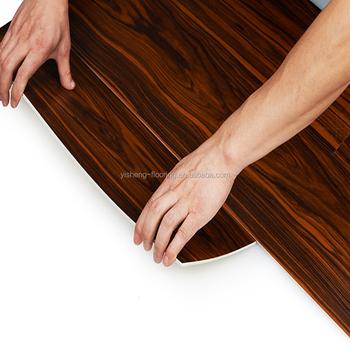 Plastic Materials Wood Grain Poly Vinyl Flooring Tiles Buy Poly