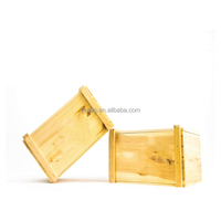 Durable cheap wooden wine box wood fruit crates