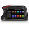 factory price android 7.1 system quad-core car audio player for Actyon kyron 2005-2013