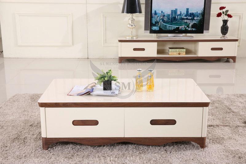 Modern Design Wooden Glass Top Center Table Designs, Designs Of Center  Tables