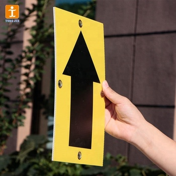 Customized handheld pvc foam board sign for sale