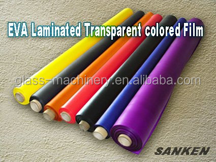 Transparent / Colored EVA Glass Interlayer Film
