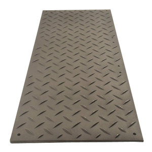 Tough HDPE heavy duty track panel / plastic heavy duty road mats