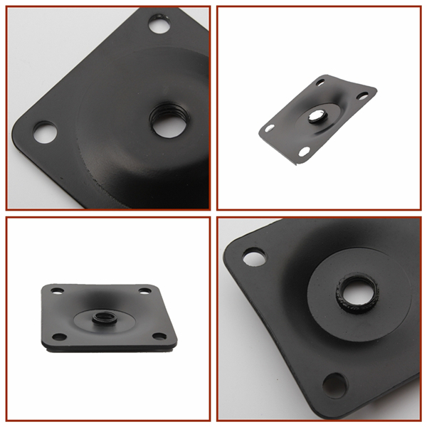 Furniture Hardware Table Leg Angle Top Plate,angle Top Leg Mountain Plate  Slope 11 Degree