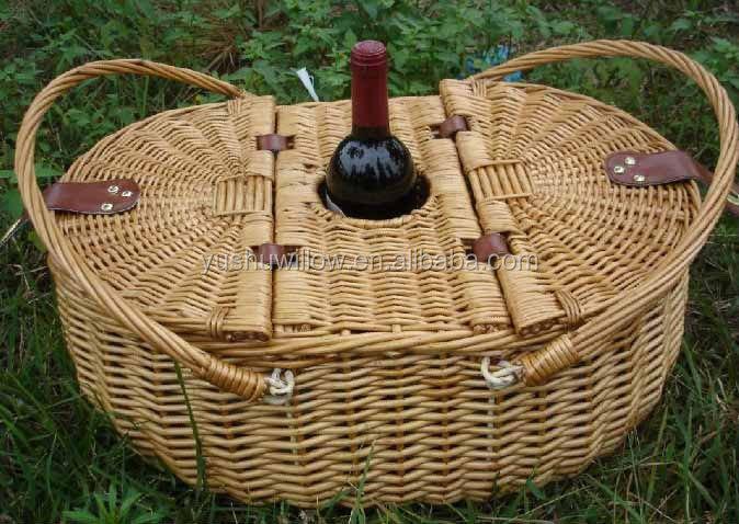 Picnic Basket With Handle