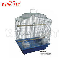 Low cost superior stainless steel pet bird cage