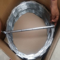 Low price concertina razor barbed wire buy direct from china manufacturer