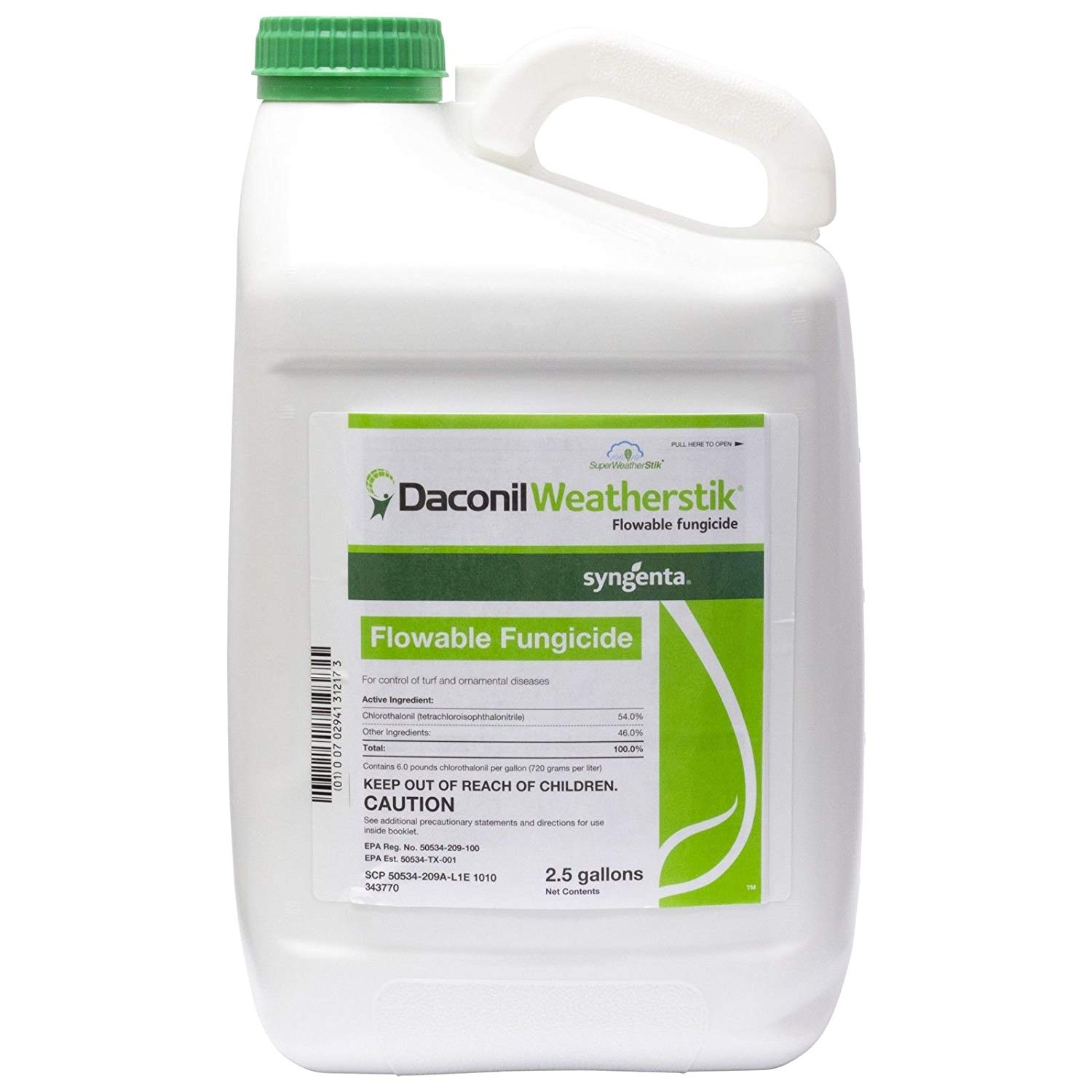 Syngenta Daconil Weather Stik Turf Fungicide 2.5 Gallon jug ..#from-by#_allpestcontrol ,ket200251971601177