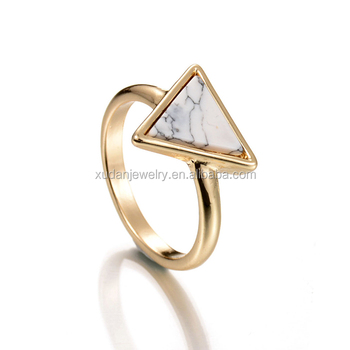 One Triangle Stone Gold Ring Designs - Buy One Stone Ring Designs,Triangle  Stone Ring,Gold Ring Designs Product on Alibaba com