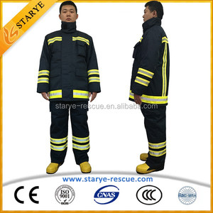 Detachable PPE Of Firefighting Protective Suit