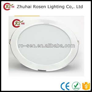 round ultra thin cob led downlight 15w